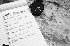 2013: Making and BreakingResolutions