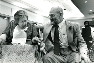 Oliver Sacks with Patient